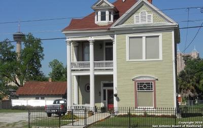 San Antonio Single Family Home New: 315 Hackberry