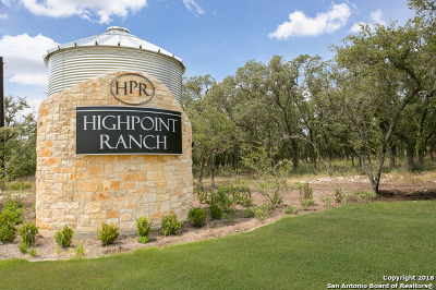 Boerne Residential Lots & Land New: Lot 81 High Point Ranch Rd