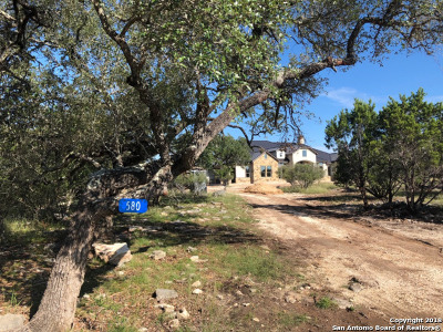 Boerne Single Family Home New: 580 Rio Brazos