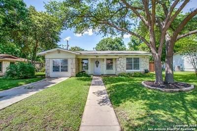 San Antonio Single Family Home New: 647 Freiling