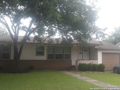 Schertz Single Family Home New: 502 Aviation Ave