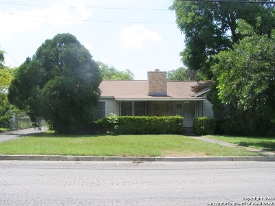 Bexar County Single Family Home New: 2613 S Walters St