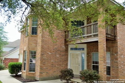 San Antonio Single Family Home New: 82 Bighorn Canyon