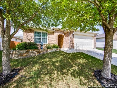 Schertz Single Family Home New: 1337 Tractor Pass