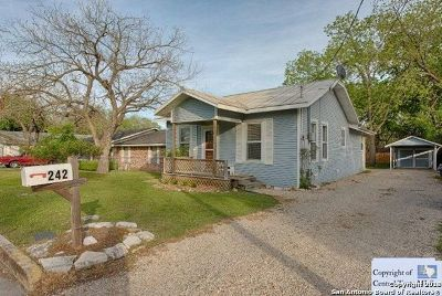 New Braunfels Single Family Home New: 242 E Mather St