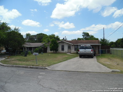 San Antonio Single Family Home New: 8803 Topsey St