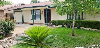 San Antonio Single Family Home New: 4718 Castle View