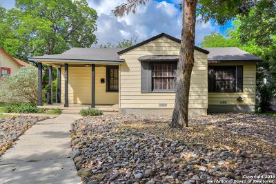 San Antonio Single Family Home New: 430 Meredith Dr
