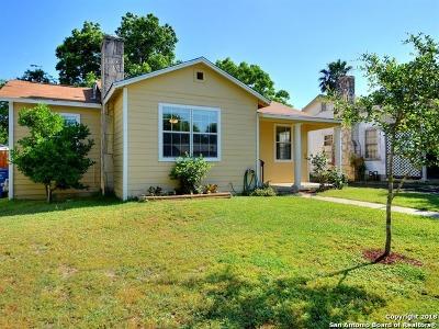 San Antonio Single Family Home New: 527 Chicago Blvd