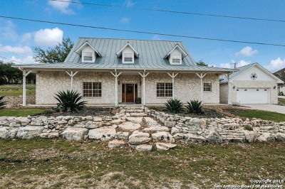 San Antonio Single Family Home New: 26106 Scenic Pass