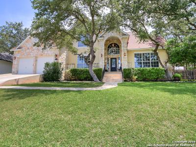 San Antonio Single Family Home New: 18522 Elmbrook