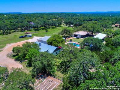 Boerne Single Family Home Price Change: 1013 State Highway 46e
