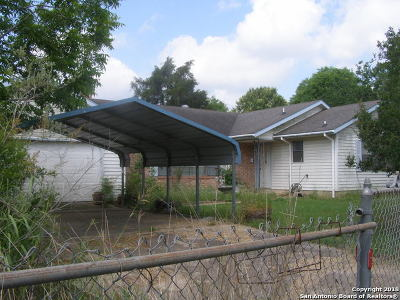 Single Family Home For Sale: 12620 S Us Highway 181