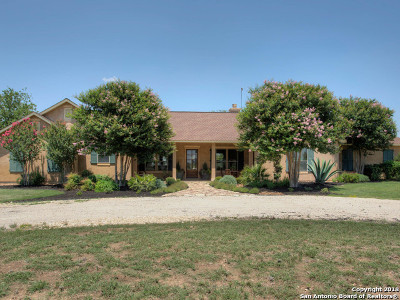 Bandera County Single Family Home Price Change: 1141 Kyle Ranch Rd