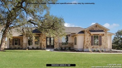 New Braunfels Single Family Home New: 1150 Diretto Drive