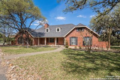 San Antonio Single Family Home New: 8550 Classic Oaks Ln