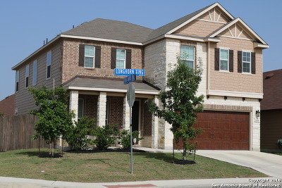 San Antonio Single Family Home New: 1202 Longhorn Xing