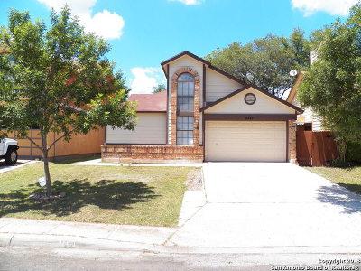 San Antonio Single Family Home New: 9447 Valley Moss