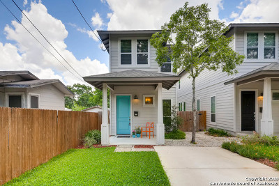 San Antonio Single Family Home Price Change: 613 W Hollywood Ave