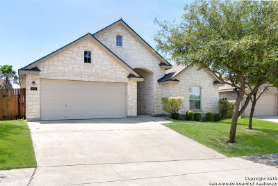 Converse Single Family Home New: 9606 Justice Ln