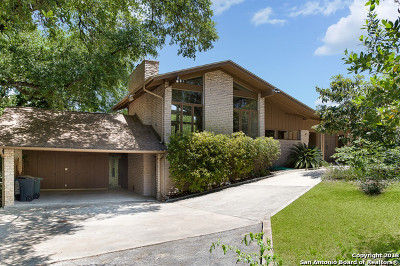 Terrell Hills Single Family Home For Sale: 711 Terrell Rd