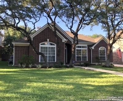 San Antonio Single Family Home New: 1119 Belclaire
