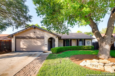 San Antonio Single Family Home New: 4631 La Marquesa St