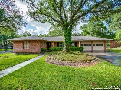 San Antonio Single Family Home New: 9117 Oak Downs Dr