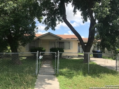 San Antonio Single Family Home New: 4715 Fortuna St