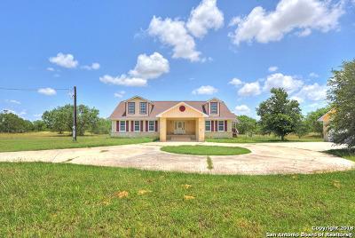 Atascosa County Single Family Home New: 770 County Road 302