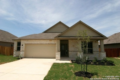 Guadalupe County Single Family Home New: 533 Saddle Hill