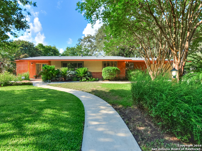 San Antonio Single Family Home New: 506 Cave Ln