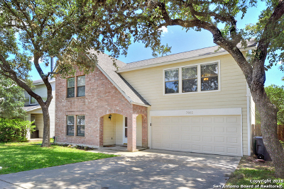 San Antonio Single Family Home New: 7662 Cascade Oak Dr