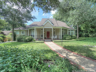 Alamo Heights Single Family Home For Sale: 134 Albany St