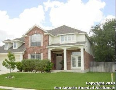 Schertz Single Family Home Price Change: 3917 Arroyo Sierra