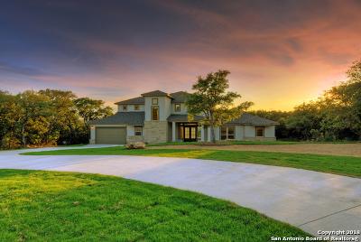 Canyon Lake Single Family Home For Sale: 2307 Sunset Ridge