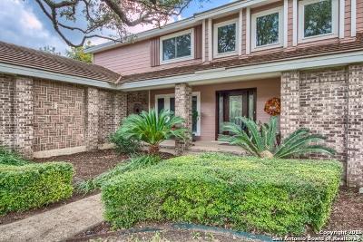 San Antonio Single Family Home New: 15914 Mission Ridge
