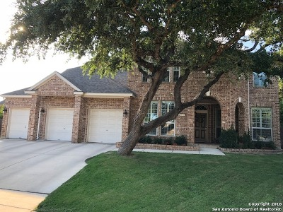 San Antonio Single Family Home New: 19123 Prescott Oaks