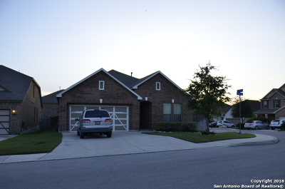 San Antonio Single Family Home New: 21231 Cinch Run