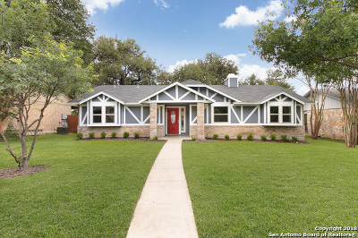 San Antonio Single Family Home New: 13726 Forest Rock Dr