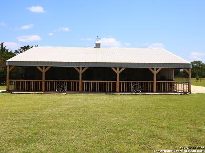 Bandera Single Family Home New: 323 Buckskin Trail