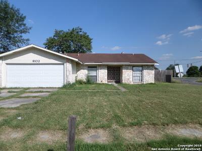 Single Family Home For Sale: 8102 E Whistler