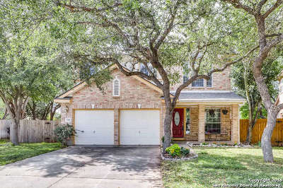 San Antonio Single Family Home Price Change: 7306 Rocky Cedar