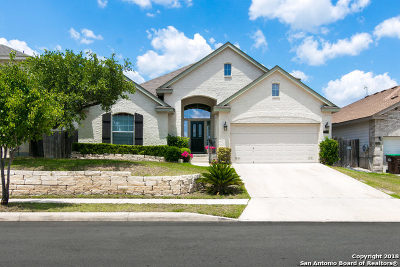 San Antonio Single Family Home New: 10339 Trotters Bay