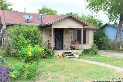 San Antonio Single Family Home New: 2915 Lombrano St