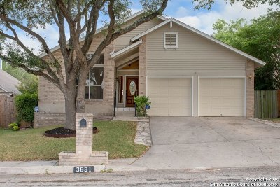 San Antonio Single Family Home New: 3631 Colter Rd
