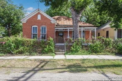 San Antonio Single Family Home New: 107 Paso Hondo St