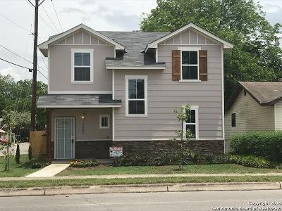 San Antonio Single Family Home New: 1602 S South Walters