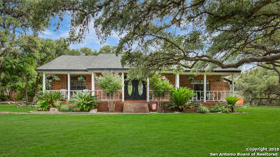Boerne Single Family Home Active RFR: 8633 Bold Forbes Circle