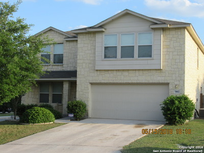 San Antonio Single Family Home New: 7802 Fort Allen